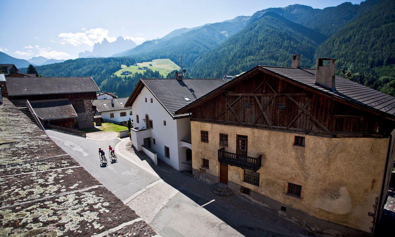 Tolle Fahrradtouren-Ziele im Bikehotel in Südtirol