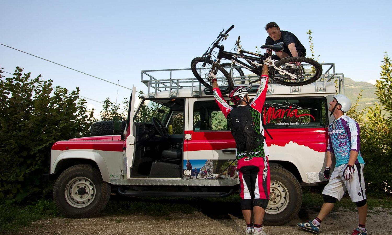 Bikeurlaub in Südtirol - geführte Touren mit Profis