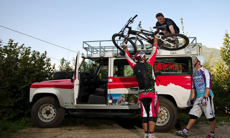 Unser Hotel mit hauseigenem Bikeverleih in Obereggen