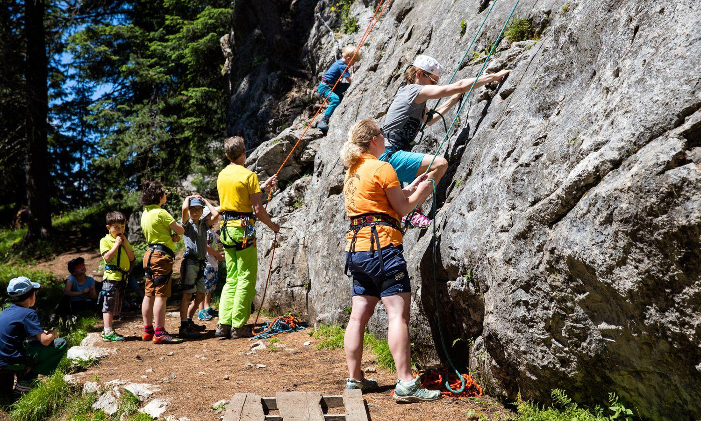 Ihre Profis für unvergessliches Kinderklettern in den Dolomiten