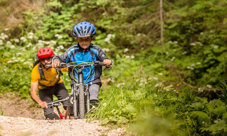 Einfach traumhaft - Mountainbiken in den Dolomiten